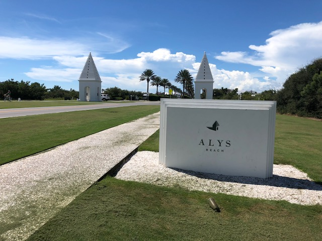 Homes in Alys Beach